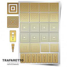 Trafaretto, Трафареты «Геометрия. Квадраты»