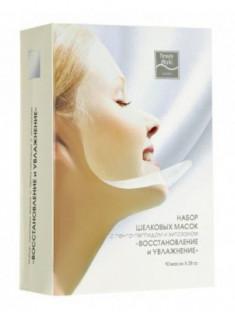 """Шелковая маска с пента-пептидом и хитозаном """"Восстановление и увлажнение"""" Beauty Style 28г"""