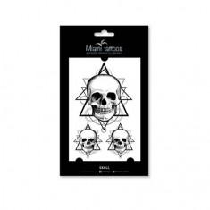 Miami Tattoos, Переводные тату Skull