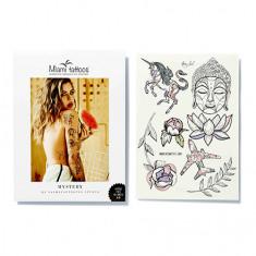 Miami Tattoos, Переводные тату Mystery by Nora Ink