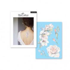 Miami Tattoos, Переводные тату White Rose