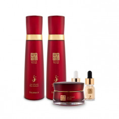 набор антивозрастных средств с женьшенем deoproce whee hyang skin care 5 set