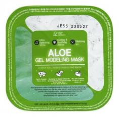 Альгинатная гелевая маска с алоэ (пудра+гель) Lindsay Aloe Gel Modeling Mask 50г+5г