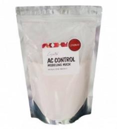 Альгинатная маска для лица лечебная для проблемной кожи LINDSAY AC-control modeling mask pack zipper 240г