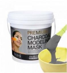 Альгинатная маска с древесным углем LINDSAY Premium charcoal modeling mask pack 820г.