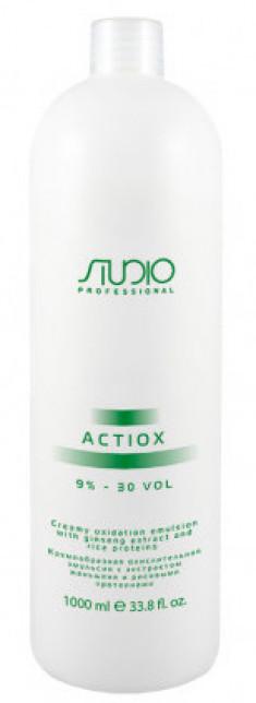 STUDIO PROFESSIONAL Эмульсия окислительная кремообразная с экстрактом женьшеня и рисовыми протеинами 9% / ActiOx 1000 мл