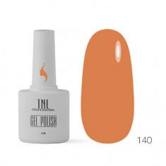 TNL, Гель-лак «8 чувств» №140, Сладкий апельсин TNL Professional