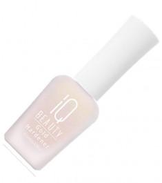 Iq beauty, gold hardener, укрепитель ногтей с золотой пылью, 12,5 мл