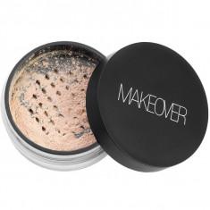 Makeover, рассыпчатая бархатная пудра, natural, 10,6 г
