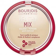 Bourjois, healthy mix, пудра, тон №1, vanilla, 11 г