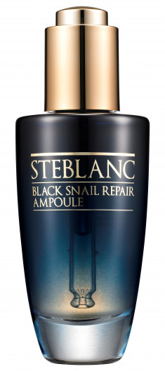 STEBLANC Сыворотка с муцином черной улитки для лица / Black Snail Repair Ampoule 50 мл