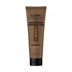 шампунь с восточными травами для силы и блеска волос l'sanic oriental herbs strength & shine shampoo