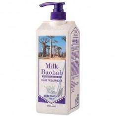 бальзам для волос с ароматом детской пудры milkbaobab treatment baby powder