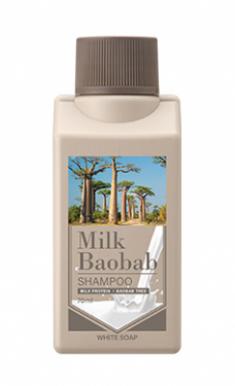 Шампунь с ароматом белого мыла Milk Baobab Shampoo White Soap Travel Edition 70мл