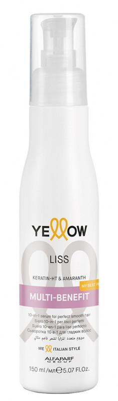 YELLOW Сыворотка 10 в 1 для гладкости волос / YE LISS MULTI-BENEFIT 150 мл