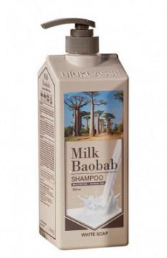 Шампунь для волос с ароматом белого мыла Milk Baobab Perfume Shampoo White Soap 500мл