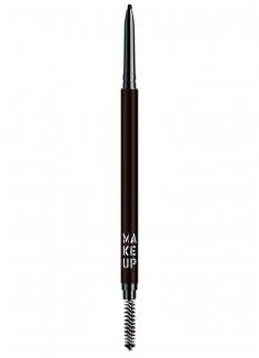 Карандаш для бровей автоматический Пепельный коричневый MAKE UP FACTORY