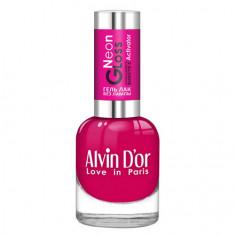 Alvin D'or, Лак-гель Neon Gloss №08