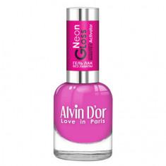 Alvin D'or, Лак-гель Neon Gloss №13
