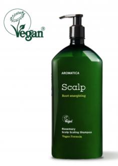 Шампунь укрепляющий с розмарином Rosemary Scalp Scaling Shampoo (Jumbo Size) 900мл AROMATICA