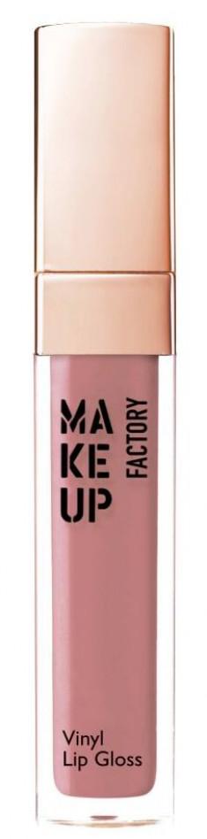 MAKE UP FACTORY Блеск для губ, 07 розовое дерево / Vinyl Lip Gloss