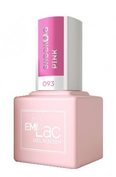 E.MI 093 TG гель-лак для ногтей, Шокирующий розовый / E.MiLac 6 мл