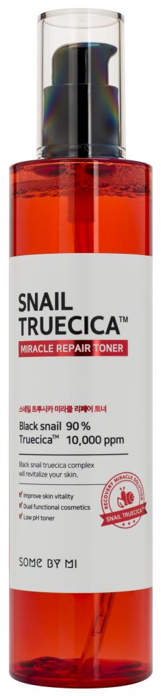 SOME BY MI Тонер для интенсивной регенерации кожи с муцином улитки и комплексом растительных экстрактов / Snail Truecica 135 мл