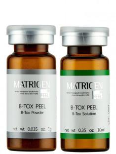 MATRIGEN Ампулы с эффектом ботокса и пилинга / B-TOX PEEL Powder & Solution 10 мл + 1 г