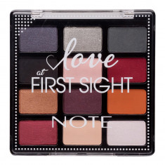 NOTE COSMETICS Тени для век из палитры 12 цветов 203 / Love at First Sight 12 х 1,3 г