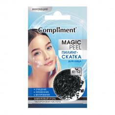 Compliment Magic Peel Пилинг-скатка для лица бамбуковый уголь и гиалуроновая кислота 7мл