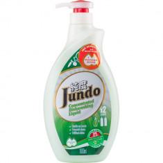 Jundo Эко гель для мытья посуды и детских принадлежностей Green tea with Mint с гиалуроновой к-той концентрат 1л