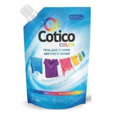 Cotico Гель для стирки цветного и линяющего белья дой-пак 1л