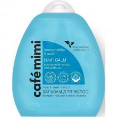 Cafe mimi Бальзам для волос Укрепление и рост экстракт граната масло жожоба 250мл КАФЕ КРАСОТЫ