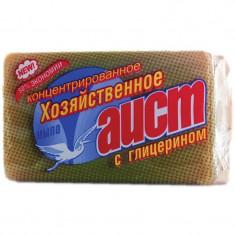 Аист Хозяйственное мыло с глицерином в обертке 150г АИСТ