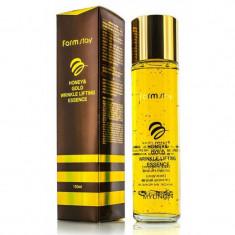 FarmStay Сыворотка с лифтинг-эффектом с экстрактом мёда и золотом 150мл Farm Stay