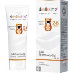 Dentissimo Зубная паста Kids 2-6 Caramel Toothpaste 50мл
