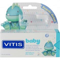 Dentaid Зубная паста-гель VITIS baby детская 0+ без фтора без вкуса + силиконовый напальчник 30мл