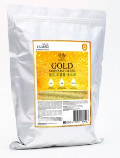La Miso Маска моделирующая альгинатная с частицами золота 1000г