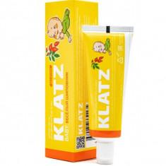Klatz BABY Зубная паста для детей Веселый шиповник без фтора 48 мл
