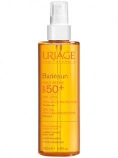 Uriage (Урьяж) Барьесан SPF50+ Сухое масло спрей для защиты от солнца 200 мл