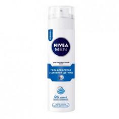 Нивея для мужчин гель для бритья 3-дневной щетины для чувствительной кожи 200мл NIVEA