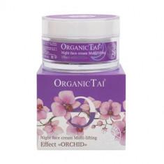 OrganicTai Крем ночной для лица мульти-лифтинг эффект Орхидея 50мл