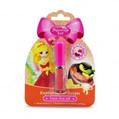 Маленькая фея Блеск для губ Волшебная кондитерская Карамельный десерт 1,3мл МАЛЕНЬКАЯ ФЕЯ