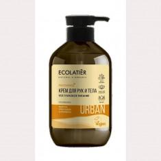 Ecolatier Urban Крем для рук и тела SOS Глубокое питание марула орех кукуи и пантенол 400 мл