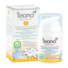 Teana/Теана Матирующий мультиламеллярный крем-себоконтроль с лактоферрином 50мл