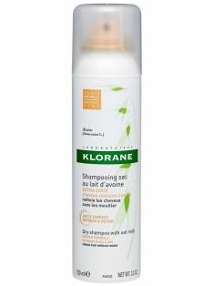 Клоран (Klorane) Сухой шампунь с молочком овса тонированный 150 мл