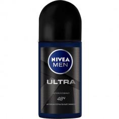 Nivea Men для мужчин дезодорант ролик Ультра Карбон 50мл