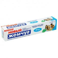 Новый жемчуг Зубная паста Фтор 75мл НОВЫЙ ЖЕМЧУГ