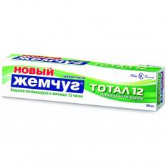 Новый жемчуг Зубная паста Тотал 12+ Отбеливание от природы 100мл НОВЫЙ ЖЕМЧУГ