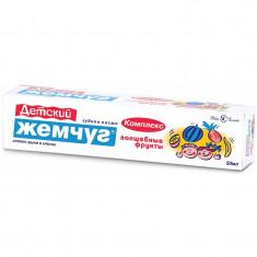 Новый жемчуг Зубная паста Волшебные фрукты комплекс для детей 50мл НОВЫЙ ЖЕМЧУГ